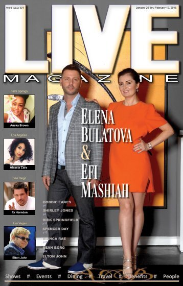 LIVE Magazine #227 January 29 thru February 12, 2016