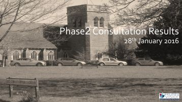Phase2 Consultation Results