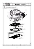 BlackandDecker Ponceuse Orbitale- Ka400 - Type 1 - Instruction Manual (Israël) - Page 6