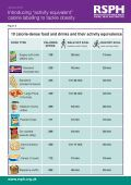 "Introducing ""activity equivalent"" calorie labelling to tackle obesity - Page 4"