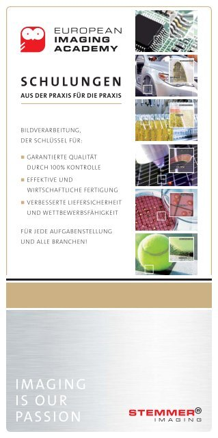 Schulungen - European Imaging Academy | DE