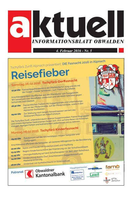 Aktuell Obwalden 05-2016