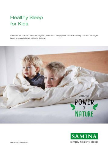 Healthy Sleep for Kids
