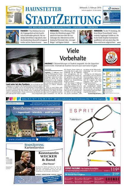 114 Augsburg - Haunstetten 03.02.2016
