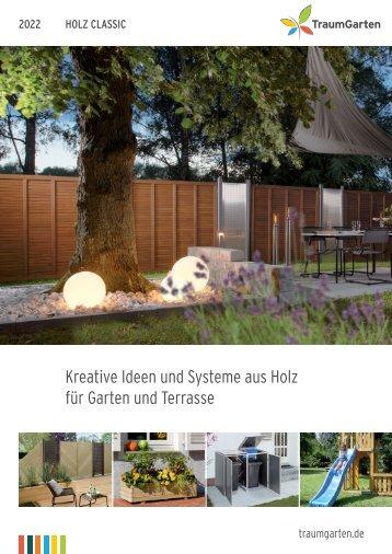 Traumgarten Holz Classic Sichtschutz