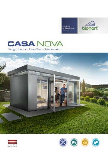 Biohort Casanova Gartenhaus
