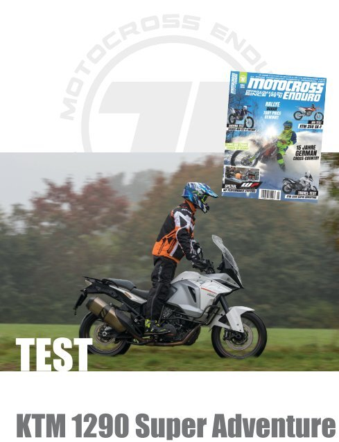KTM 1290 SuperAdventure / Test 2016