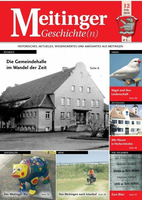 Meitinger Geschichten 02/2016