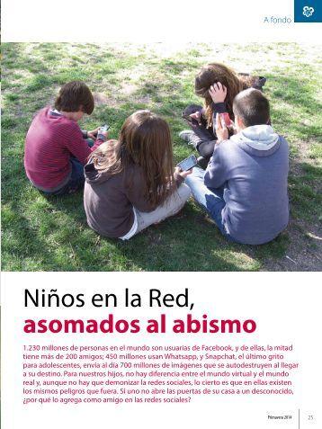 Niños en la Red asomados al abismo
