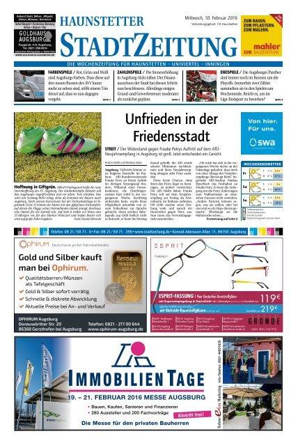 114 Augsburg - Haunstetten 10.02.2016