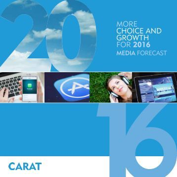 CHOICE AND GROWTH FOR 2016
