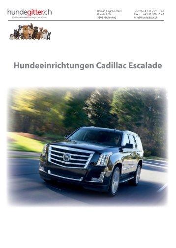 Cadillac_Escalade_Hundeeinrichtungen