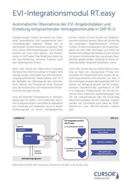 EVI Integrationsmodul RT.easy