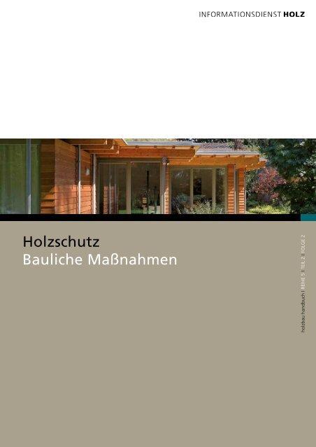 Holzschutz_Bauliche_Massnahmen