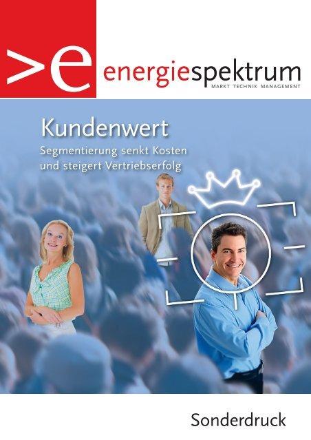 Stadtwerke Augsburg, Kundensegmentierung, Referenzbericht, energiespektrum 1/2-2009