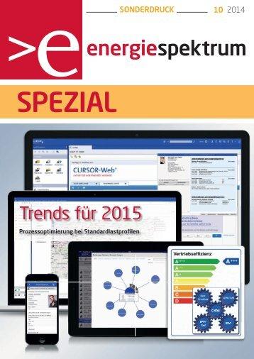 Prozessoptimierung bei Standardlastprofilen, energiespektrum 10-2014