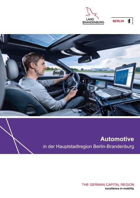 Automotive in der Hauptstadtregion Berlin-Brandenburg