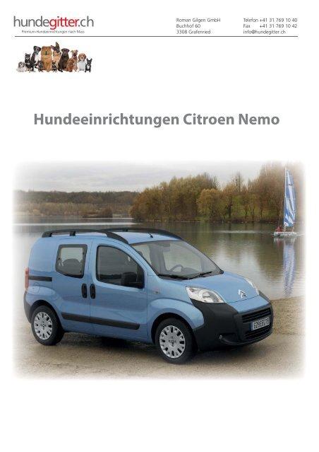 Citroen_Nemo_Hundeeinrichtungen