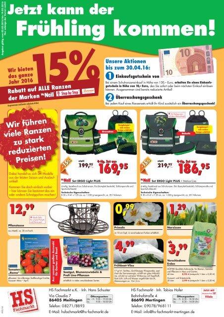 HS Fachmarkt 03/2016
