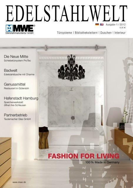 MWE Edelstahlwelt Ausgabe 1