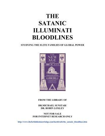 Satanic Illuminati Bloodlines