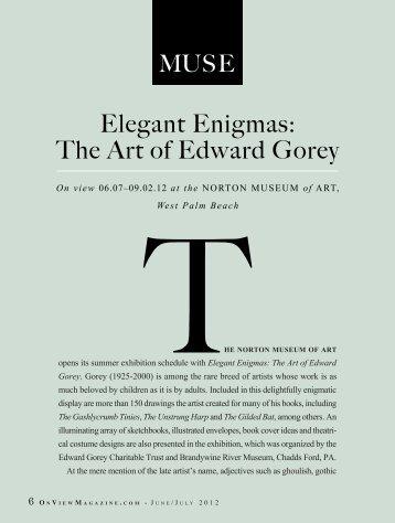 Elegant Enigmas: The Art of Edward Gorey