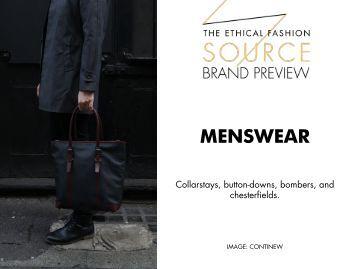 Brand Preview 2016 - Menswear