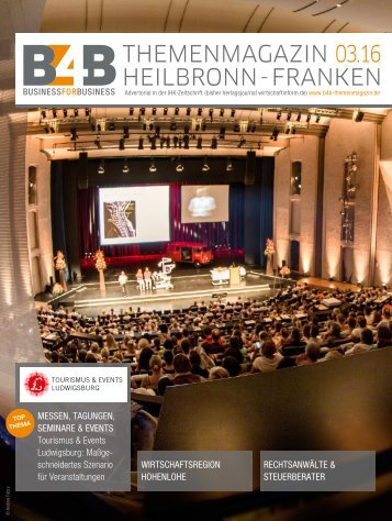 MESSEN, TAGUNGEN, SEMINARE & EVENTS | B4B Themenmagazin 03.2016