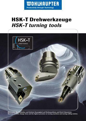 HSK-T Drehwerkzeuge HSK-T turning tools