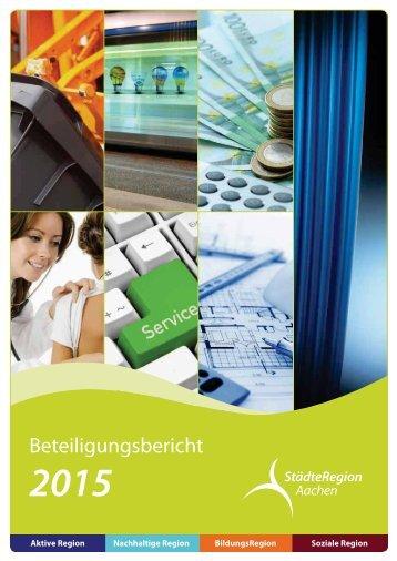 Beteiligungsbericht 2015