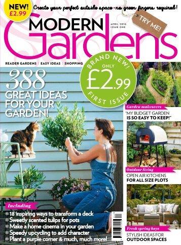 Modern Gardens Minimag NEW