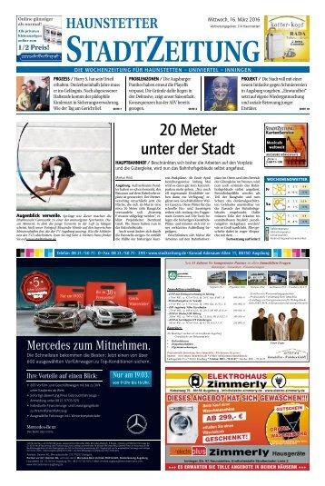 114 Augsburg - Haunstetten 16.03.2016
