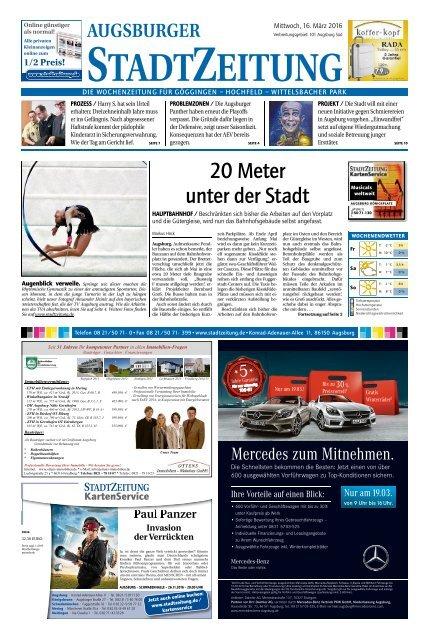 101 Augsburg - Süd 16.03.2016