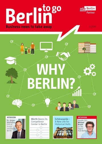 Berlin to go, english edition, 01/2016