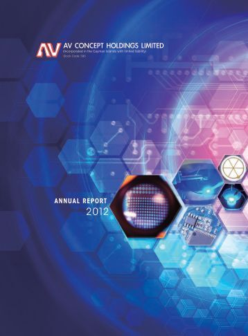 annual report - AV Concept Holdings Limited