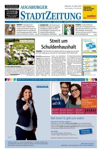 101 Augsburg - Süd 23.03.2016