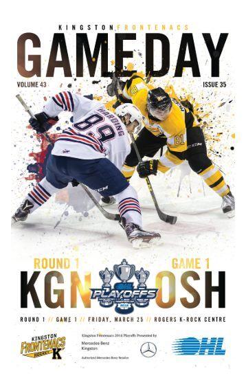 Kingston Frontenacs GameDay March 25, 2016