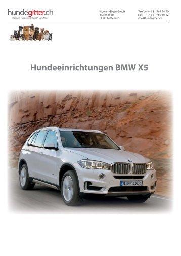 BMW_X5_Hundeeinrichtungen