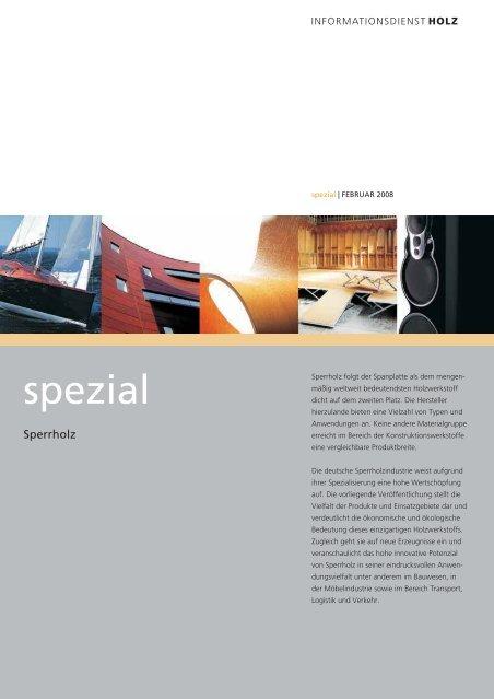 Sperrholz Magazin