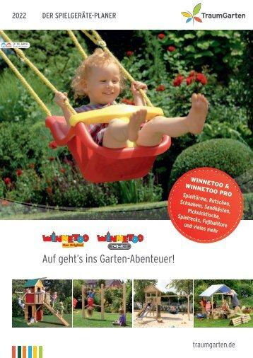 Traumgarten - Der große Spielgeräte Planer 2018