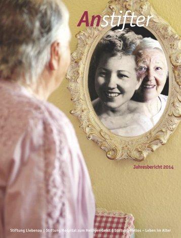 Jahresbericht 2014  der Stiftung Liebenau