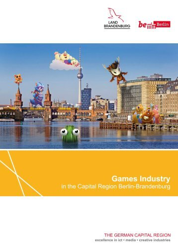 Games Industry in the Capital Region Berlin-Brandenburg