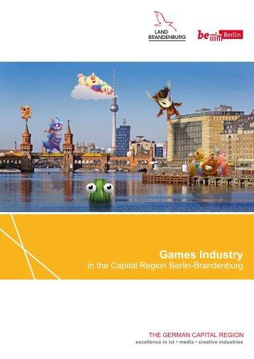Games Industry in the Capital Region Berlin-Brandenburg