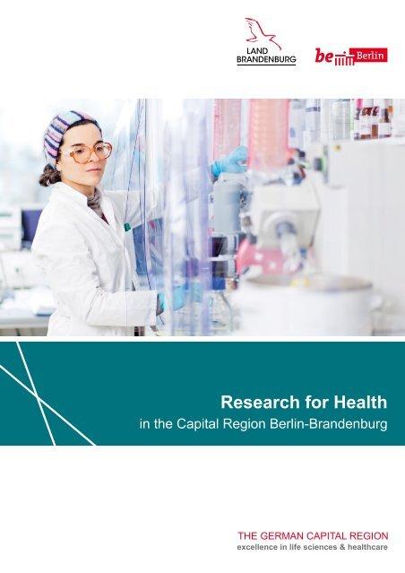 Research for Health in the Capital Region Berlin-Brandenburg