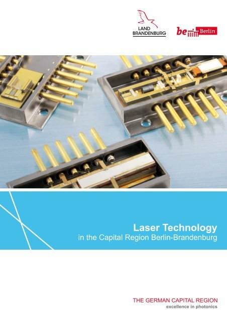 Laser Technology in the Capital Region Berlin-Brandenburg