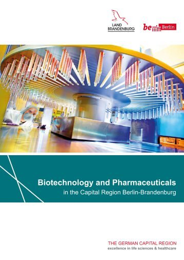 Biotech and Pharma in the Capital Region Berlin-Brandenburg