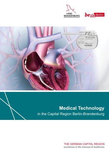 Medical Technology in the Capital Region Berlin-Brandenburg