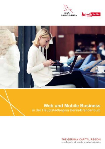 Web und Mobile Business in der Hauptstadtregion Berlin-Brandenburg