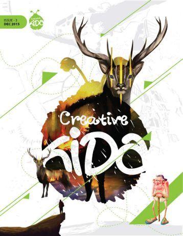 Creative Kida - art magazine (3rd issue)