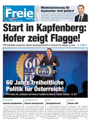 Start in Kapfenberg: Hofer zeigt Flagge!